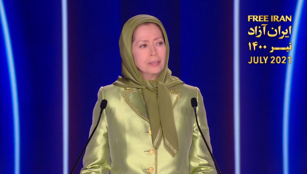 Mrs. Maryam Rajavi, the president-elect of the National Council of Resistance of Iran(NCRI)
