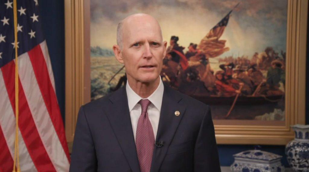 US Senator Rich Scott (R-FL) is the junior United States Senator from Florida