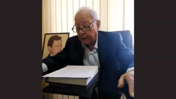 Saleh Al-Qalab, former Minister of Culture and Information of Jordan