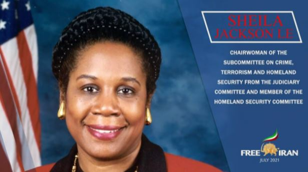 Congresswoman Sheila Jackson Lee (D-TX), senior member of the House Judiciary Committee, U.S. Representative for Texas's 18th congressional district