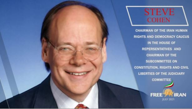 Congressman Steve Cohen (D the U.S. Representative from Tennessee's 9th congressional district