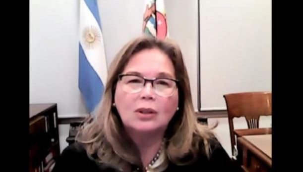 Susana Medina de Rizzo, President of International Association of Women Judges