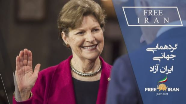 US Senator Jeanne Shaheen (D-NH), senior United States senator from New Hampshire