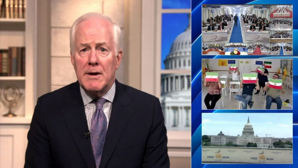 US Senator John Cornyn (R-TX) former Chair of the National Republican Senatorial Committee from 2007 to 2011. He is the senior United States Senator for Texas