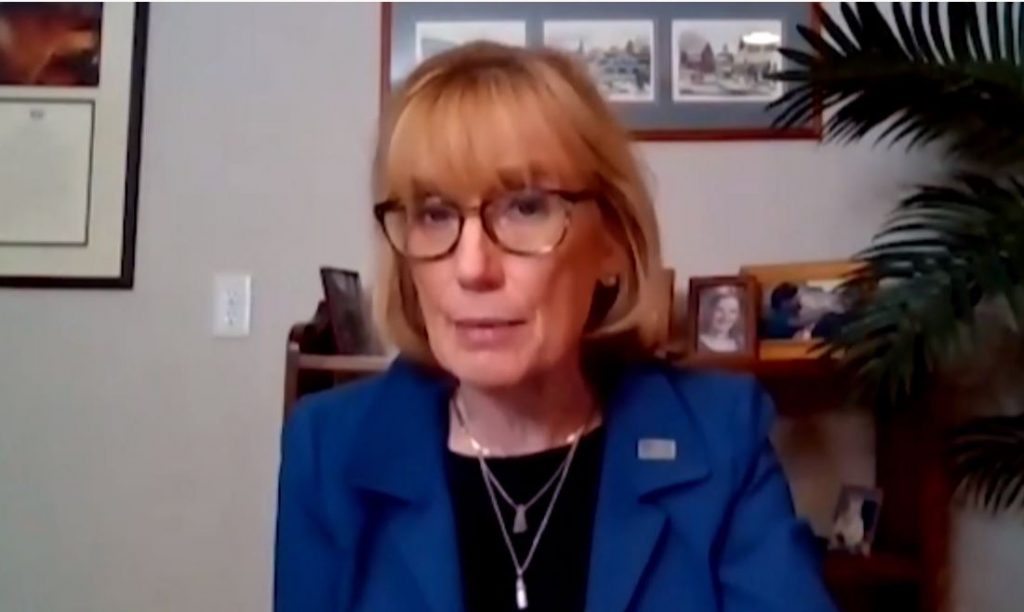 US Senator Margaret Hassan (D-NH) is the United States Senator from New Hampshire