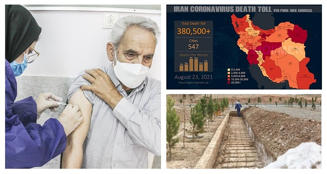 Iran:  COVID-19 death toll among those vaccinated is tens of times world standard