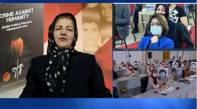 Sima Mirzaei, relative of 1988 massacre victims with 14 family members killed by the regime