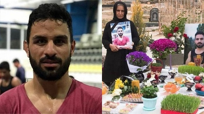12 September, first anniversary of the execution of Iranian wrestling champion, Navid Afkari