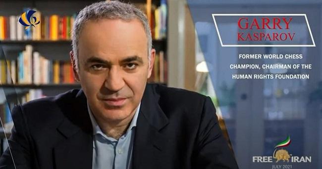 Garry Kasparov's Remarks to the Free Iran World Summit 2021–July 12, 2021 article photo