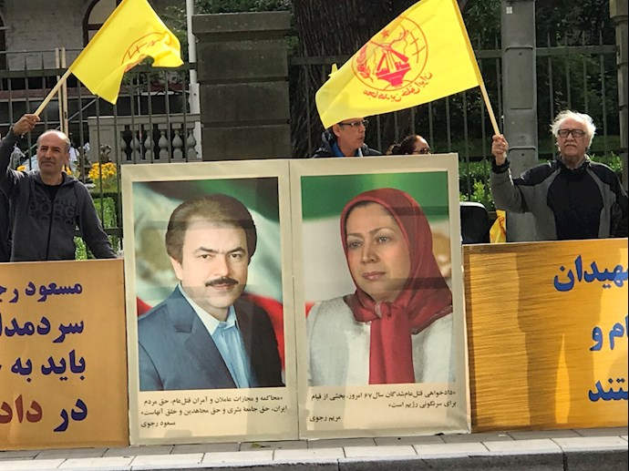 MEK Supporters Rally in Stockholm — September 6, 2021 – 2