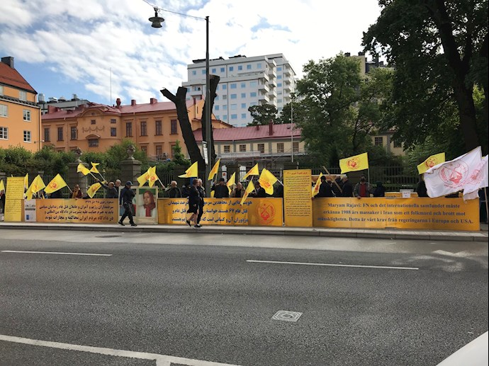 MEK Supporters Rally in Stockholm — September 6, 2021 – 4