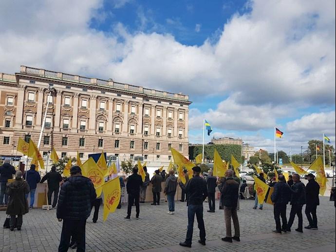 MEK Supporters Rally in Stockholm — September 9, 2021 – 3