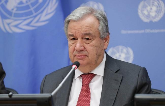 UN Secretary General, Antonio Guterres