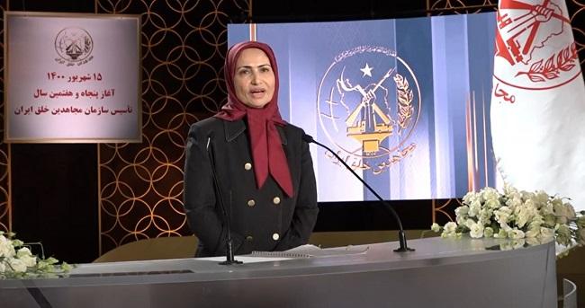 Zahra Merrikhi, Secretary-General of the People's Mojahedin Organization of Iran (PMOI/MEK)