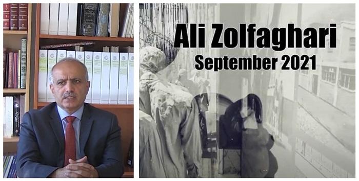 Ali Zolfaghari, former political prisoner