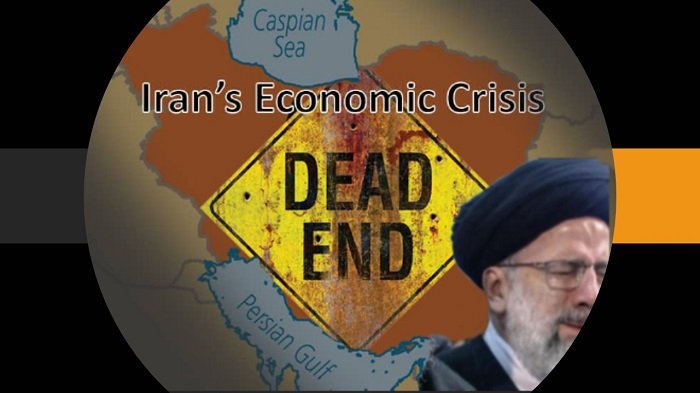 The economic crisis in Iran is due to the global crisis in the corrupt and plundering regime, which in the last four decades has done nothing but destroy Iran and plunder its resources for terrorism and acquire nuclear weapons and repression at home. The mass murderer Raisi can not do anything. Finally, he and the mullahs' regime will be overthrown.