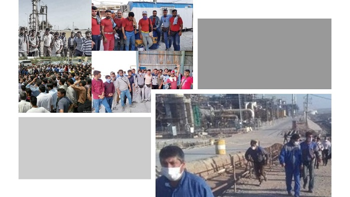 Contract oil workers continue to strike against the inhumane conditions they are forced to face while working in Iran's most profitable industry, with workers and employees from 107 different companies demanding for their rights to be recognized by the Iranian regime.