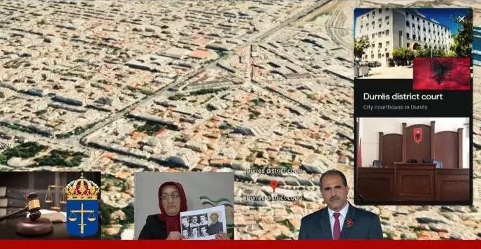 Khadijeh Borhani and Seyed Hossein Seyed Ahmadi from Ashraf 3