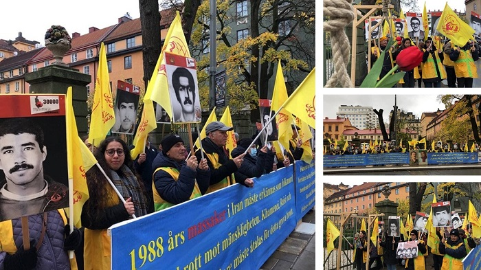 The Trial of the Executioner Hamid Noury, the Testimony of Mr. Zolfaghari, a Plaintiff in the Case and Witness to the 1988 Massacre and MEK Supporters Rally in Stockholm — Wednesday, October 20, 2021 article photo