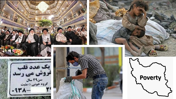 While the majority of Iranians live below the poverty line and even sell their hearts due to extreme poverty, corrupt mullahs have a luxurious life for themselves.